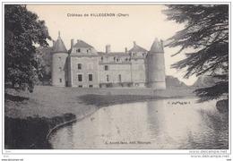 18.  Cher : Villegenon : Le Chateau . - France