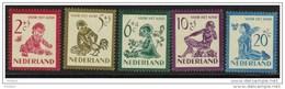 PAYS BAS YT N° 549/53 ** MNH. (MNT89) - Period 1949-1980 (Juliana)