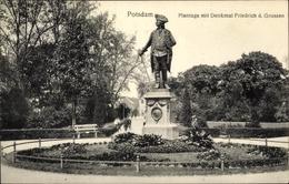 Cp Potsdam In Brandenburg, Plantage Mit Denkmal Friedrich Der Große - Germania