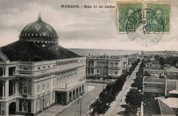 Manaos -Rua 10 De Julho - Manaus - Brésil Brasil - Manaus