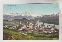 CPA SAINT MORITZ (Suisse-Grisons) - ST MORITZ DORF Vue Générale - GR Grisons