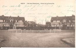 ANZIN (59) Cité Des Cheminots - Place De La Concorde - Anzin