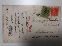 1918 Cenzura Romana Cluj  Francatura Mixta - Oorlog 1914-18