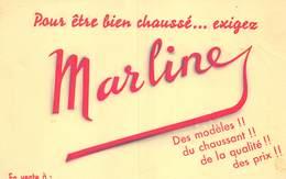 VP-GF.19-RO 102 : BUVARD. CHAUSSURES MARLINE. - Blotters