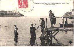 FR66 PORT VENDRES - Mtil 354 - Sur La Plage à L'heure Du Bain - Animée - Belle - Port Vendres