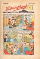 Tijdschrift Weekblad Magazine Voor De Jeugd - Strips - Zonneland - 18 Januari 1948 - Livres, BD, Revues