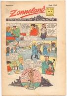 Tijdschrift Weekblad Magazine Voor De Jeugd - Strips - Zonneland - 1 Februari 1948 - Livres, BD, Revues