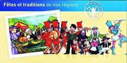 Carnet 2011 La France Comme J'aime - Fêtes Et Traditions De Nos Régions 1 - Carnets