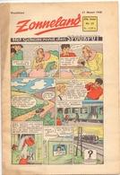 Tijdschrift Weekblad Magazine Voor De Jeugd - Strips - Zonneland - 21 Maart 1948 - Livres, BD, Revues