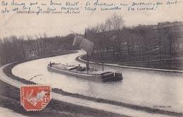 Chatillon Sur Loire Le Canal (péniche à Voile) - Chatillon Sur Loire