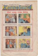 Tijdschrift Weekblad Magazine Voor De Jeugd - Strips - Zonneland - 4 November 1945 - Livres, BD, Revues