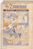 Tijdschrift Weekblad Magazine Voor De Jeugd - Strips - Zonneland - 3 Maart 1946 - Livres, BD, Revues
