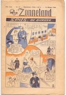 Tijdschrift Weekblad Magazine Voor De Jeugd - Strips - Zonneland - 24 Maart 1946 - Livres, BD, Revues