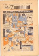 Tijdschrift Weekblad Magazine Voor De Jeugd - Strips - Zonneland - 31 Maart 1946 - Livres, BD, Revues