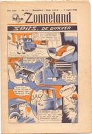 Tijdschrift Weekblad Magazine Voor De Jeugd - Strips - Zonneland - 7 April 1946 - Livres, BD, Revues