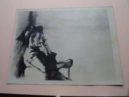ANNETTE DELETAILLE ( Exposition 1975 - Hof Ter LINDE ) Foto Formaat 24 X 18 Cm. ( ART / KUNST ) ! - Beroemde Personen
