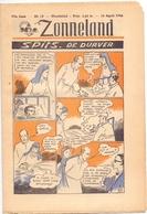 Tijdschrift Weekblad Magazine Voor De Jeugd - Strips - Zonneland - 14 April 1946 - Livres, BD, Revues