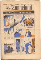 Tijdschrift Weekblad Magazine Voor De Jeugd - Strips - Zonneland - 16 Juni 1946 - Juniors