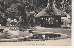 19 / 12 / 164. -  LOUVIERS  ( 27 ). LE  JARDIN  PUBLIC - Louviers