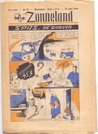 Tijdschrift Weekblad Magazine Voor De Jeugd - Strips - Zonneland - 23 Juni 1946 - Livres, BD, Revues