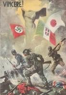 """Cartolina - Postcard / Non  Viaggiata - Unsent  /  Associazione Naz. Combattenti - Fed. Di Milano."""" Vincere """" - Patriottiche"""