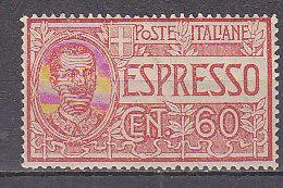 PGL BZ136 - ITALIA REGNO ESPRESSO SASSONE N°7 ** - 1900-44 Victor Emmanuel III.