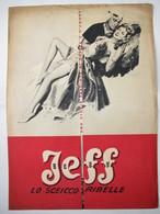 "Brochure Film D'avventura Del 1951 ""Jeff, Lo Sceicco Ribelle"" (Flame Of Araby) Diretto Da Charles Lamont - Plakate & Poster"