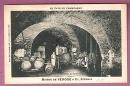 Au Pays Du Champagne Maison De Venoge & Cie Epernay - Carrefour De Caves  - éditeur Choque - Epernay
