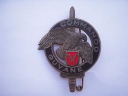 """Insigne Du Centre D'entrainement """"Commando Guyane""""  Drago Paris - Armée De Terre"""