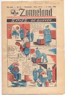Tijdschrift Weekblad Magazine Voor De Jeugd - Strips - Zonneland - 11 Augustus 1946 - Livres, BD, Revues