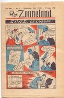 Tijdschrift Weekblad Magazine Voor De Jeugd - Strips - Zonneland - 18 Augustus 1946 - Livres, BD, Revues