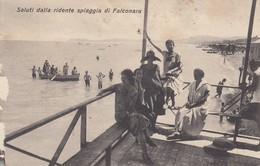 Marche - Ancona - Falconara - Saluti Dalla Spiaggia - Bella - F. Piccolo - Italien