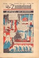 Tijdschrift Weekblad Magazine Voor De Jeugd - Strips - Zonneland - 25 Augustus 1946 - Livres, BD, Revues
