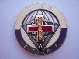 Insigne CISS  ETAP  Fraisse Paris (Centre D'instruction  Service De Santé) - Armée De Terre