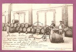 Le Vin De Champagne Serie C - Epernay Caves De La Maison Moet & Chandon N°16 Le Soutirage- éditeur Bonnard Coll Weinmann - Epernay
