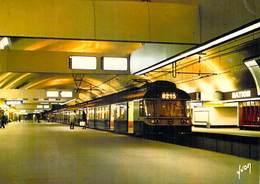 75011 ] PARIS (Métro Parisien,) RER  8215 Station NATION Vue Des Quais (métro Transport)  *PRIX FIXE - Metropolitana, Stazioni
