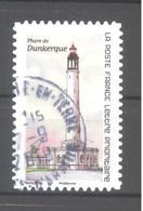 France Autoadhésif Oblitéré (Phare De Dunkerque) (cachet Rond) - Francia