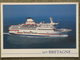BRITTANY FERRIES BRETAGNE OFFICIAL - Ferries