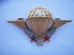 Insigne Brevet Parachutiste GS 101  Drago - Armée De Terre