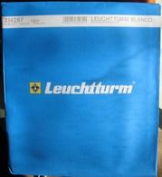 Leuchtturm - Feuilles BLANCO LBSH (1 Poche) (paquet De 10) - Albums & Binders