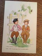 """Cpa, Illustrateur , Signée Jean Cheval, Humour, """"vous Montez à Cheval Chère Amie? Etc.."""", éd La Rose, écrite - Cheval"""