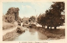 - LEUGNY  (89) -   Paysage Sur L'Ouanne   -8126- - Sonstige Gemeinden