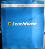 Leuchtturm - Feuilles BLANCO LB ETB (1 Poche) (paquet De 10) - Albums & Binders