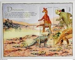 Palau 2004**Mi.2400-03 Dinosaurs , MNH [15;56] 2. - Vor- U. Frühgeschichte