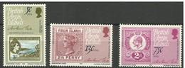 Virgin Islands - 1979 Rowland Hill Annuversary Set Of 4 MNH **  SG 413-5  Sc 360-2 - British Virgin Islands