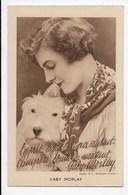 Gaby Morlay With Dog - Campari Publicity - Actors