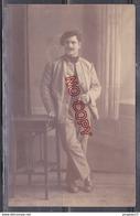 Au Plus Rapide Carte Photo Prisonnier De Guerre Louis C.... D'Antibes Alfed Prusse 13 Février 1917 Très Bon état - Guerre 1914-18