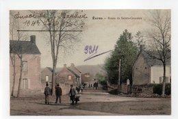 - CPA EVRON (53) - Route De Sainte-Gemmes 1916 (avec Personnages) - Edition E. Lemeunier - - Evron