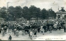 N°92 T -cpaj Amiens -marché Aux Bestiaux- - Marktplaatsen