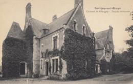 CPA - Savigny Sur Braye - Château De Glatigny - Façade Intérieure - Francia